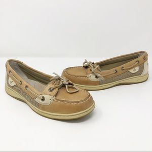 Sperry Firefish leather boat shoes loafers